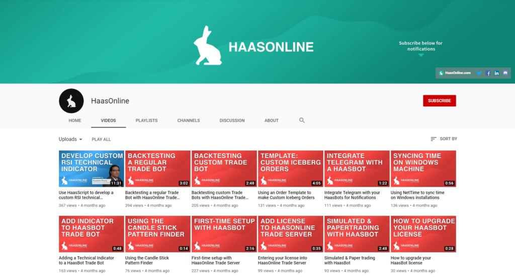Haasonline Videos