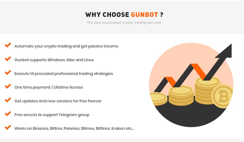 Gunbot Why choose