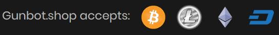 Gunbot accepted coins